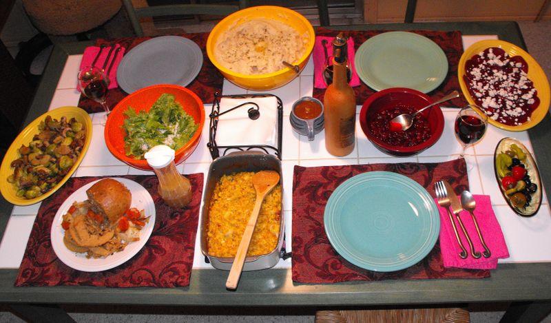 Feast before