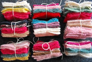 Wool candy