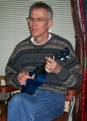 Glen_playing_ukulele