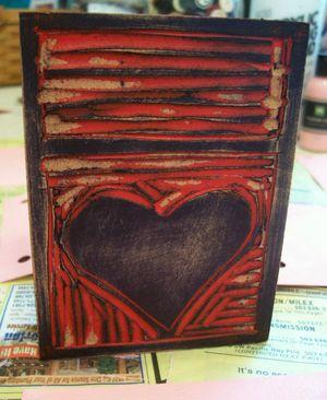 Heart_linocut