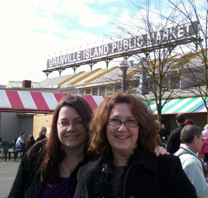 Michelleandlilliatgranvillemarket